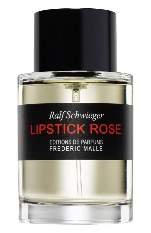 Парфюмерная вода Lipstick Rose Frederic MalleАроматы для женщин<br><br><br>Объем мл: 100<br>Пол: Женский<br>Возраст: Взрослый<br>Цвет: Бесцветный