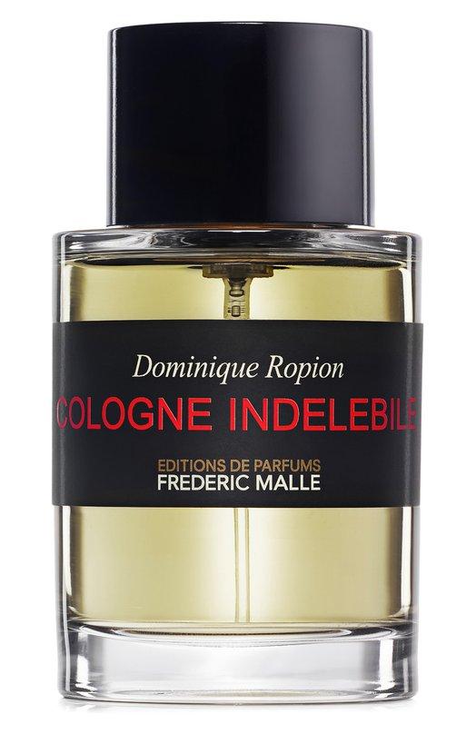 Парфюмерная вода Cologne Indelebile Frederic MalleАроматы для женщин<br><br><br>Объем мл: 100<br>Пол: Женский<br>Возраст: Взрослый<br>Цвет: Бесцветный