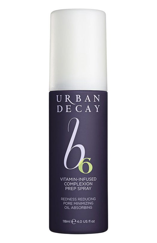 Универсальный витаминный спрей для лица Prep Spray Urban DecayУвлажнение / Питание<br><br><br>Объем мл: 118<br>Пол: Женский<br>Возраст: Взрослый<br>Цвет: Бесцветный