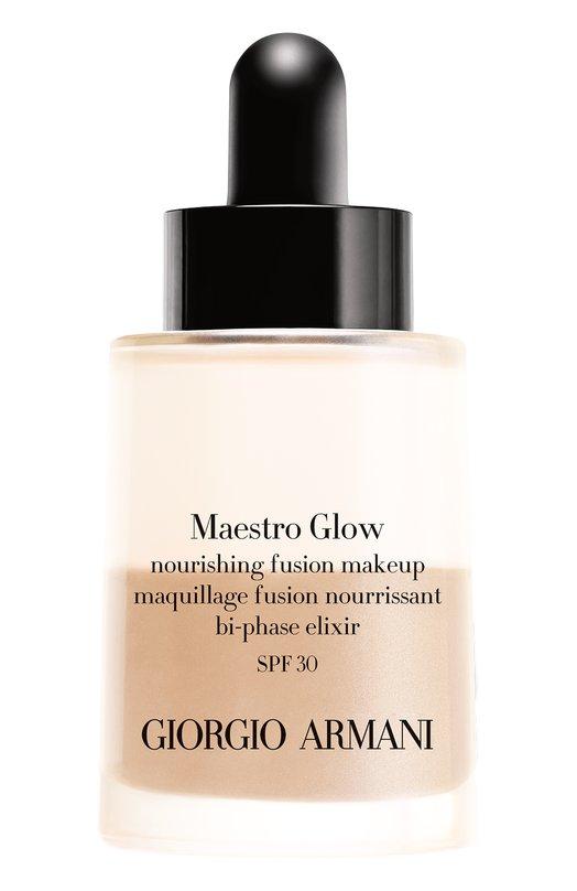 Двухфазная тональная вуаль Maestro Glow, оттенок 4 Giorgio Armani 3614271214645