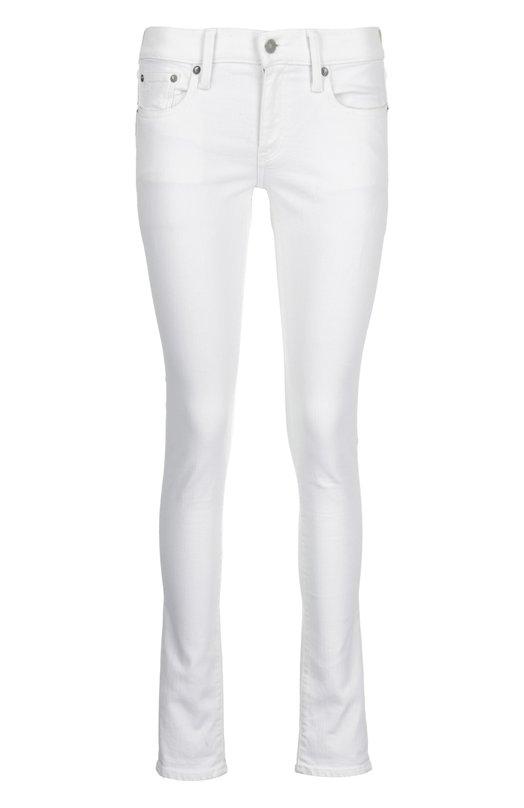 Джинсы Polo Ralph LaurenДжинсы<br>Ральф Лорен включил в коллекцию сезона весна-лето 2016 года белые джинсы slim fit. Модель сшита из тонкой саржи на основе хлопка. Пояс со шлевками для широкого ремня дополнен кожаной нашивкой с логотипом бренда. Советуем сочетать с джемпером, жакетом и лоферами.<br><br>Российский размер RU: 42<br>Пол: Женский<br>Возраст: Взрослый<br>Размер производителя vendor: 27<br>Материал: Хлопок: 90%; Полиэстер: 8%; Эластан: 2%;<br>Цвет: Белый