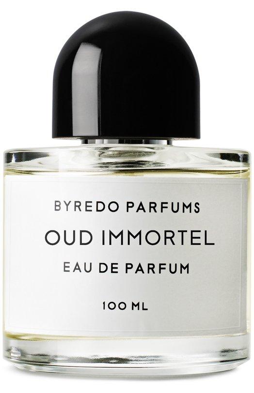 Парфюмерная вода Oud Immortel ByredoАроматы для женщин<br><br><br>Объем мл: 100<br>Пол: Женский<br>Возраст: Взрослый<br>Цвет: Бесцветный