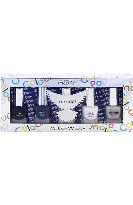 Набор лаков для ногтей Colour Pop Liquorice Christina Fitzgerald 9333381003348
