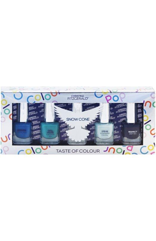 Набор лаков для ногтей Colour Pop Snow Cone Christina Fitzgerald 9333381003331
