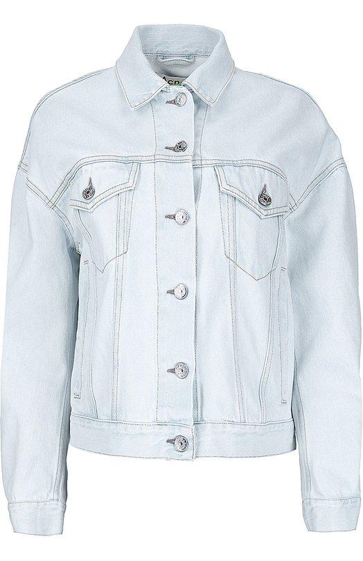 Джинсовая куртка свободного кроя Acne Studios 12K156