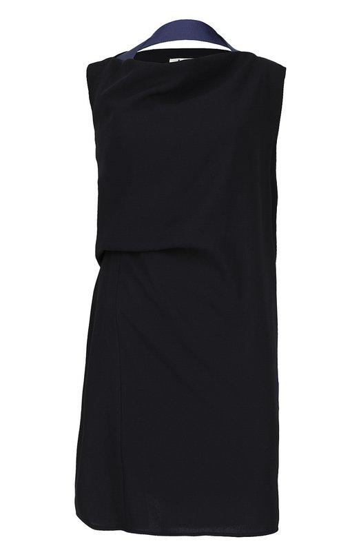 Прямое платье с контрастной отделкой Acne Studios 14L161