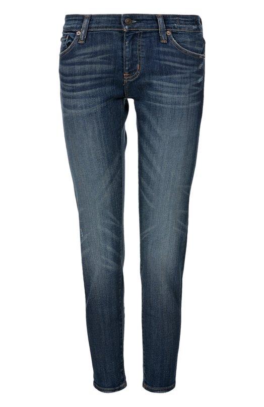 Прямые джинсы с потертостями Denim&amp;Supply by Ralph LaurenДжинсы<br>В весенне-летнюю коллекцию бренда, основанного Ральфом Лореном, вошли синие джинсы из эластичного плотного хлопка с небольшими потертостями. Пояс дополнен кожаной нашивкой с логотипом марки, задние карманы — декоративной коричневой строчкой.<br><br>Российский размер RU: 40<br>Пол: Женский<br>Возраст: Взрослый<br>Размер производителя vendor: 25<br>Материал: Хлопок: 95%; Полиэстер: 3%; Эластан: 2%;<br>Цвет: Синий