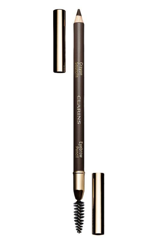 Карандаш для бровей Crayon Sourcils, оттенок 02 ClarinsДля бровей<br><br><br>Объем мл: 0<br>Пол: Женский<br>Возраст: Взрослый<br>Цвет: Бесцветный