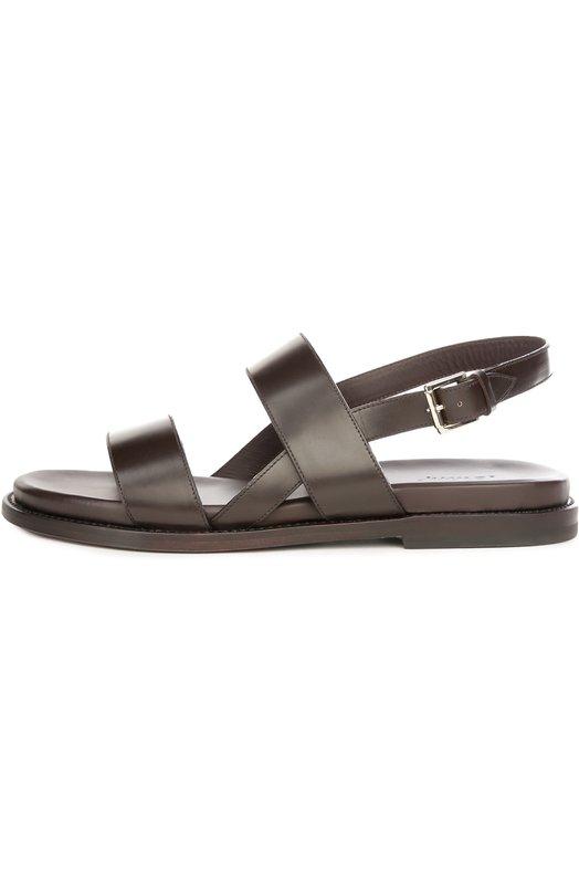Кожаные сандалии Brioni QYPC/04721