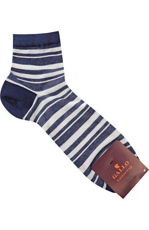 Хлопковые носки в полоску Gallo T6200K