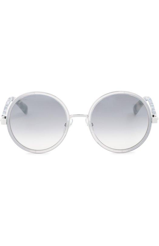 Купить Солнцезащитные очки Jimmy Choo, ANDIE J7L, Италия, Светло-серый