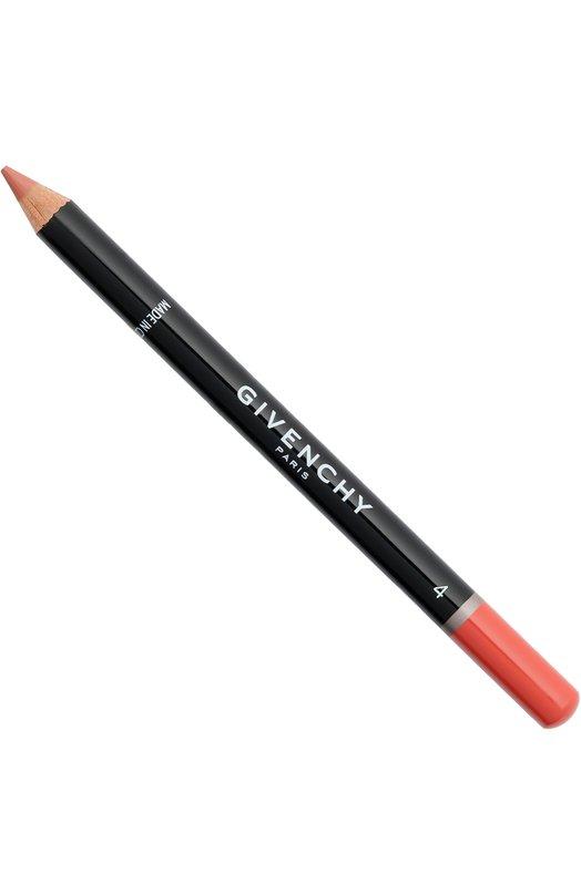 Карандаш для губ с точилкой Lip Liner, тон 04 Апельсин GivenchyКарандаши для губ<br><br><br>Объем мл: 0<br>Пол: Женский<br>Возраст: Взрослый<br>Цвет: Бесцветный