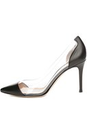 Туфли Plexy Pump Gianvito Rossi чёрные | Фото №1