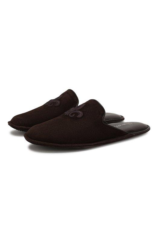 Купить Домашние замшевые туфли Homers At Home, 17328/ANTE, Испания, Коричневый, Подошва-замша: 70%; Подошва-кожа: 60%; Подошва-резина: 40%; Замша натуральная: 100%; Подкладка-кожа: 100%; Кожа: 100%; Стелька-кожа: 100%;