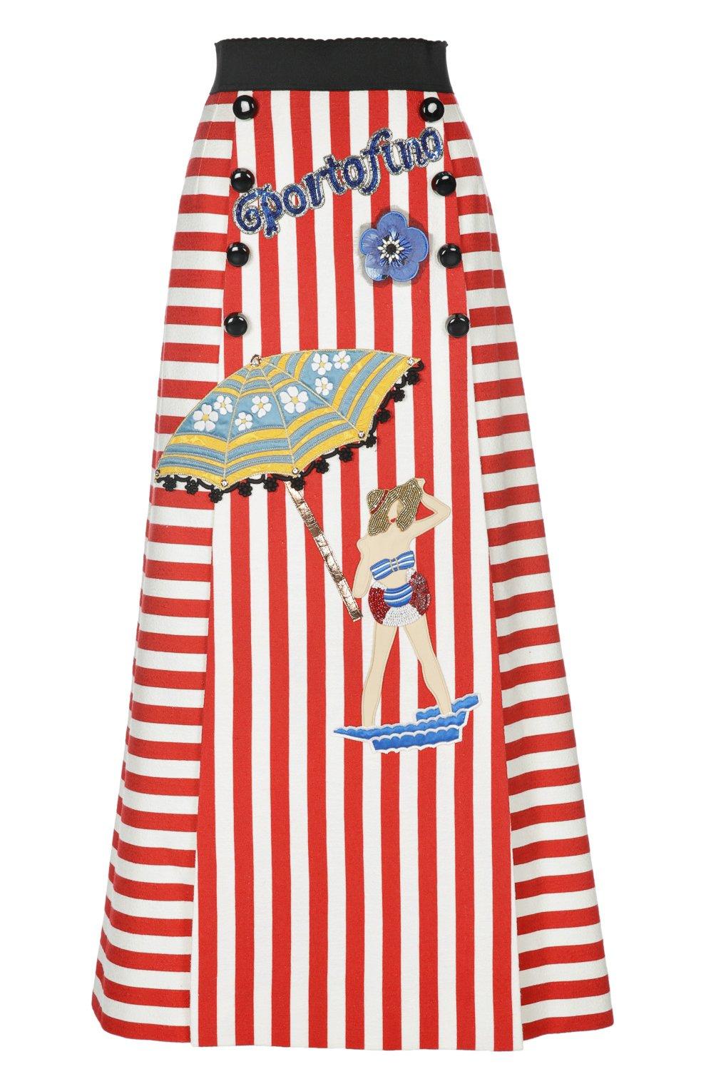 Хлопковая юбка макси