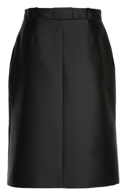 Юбка-миди с карманами и высоким разрезом Carven 245J05