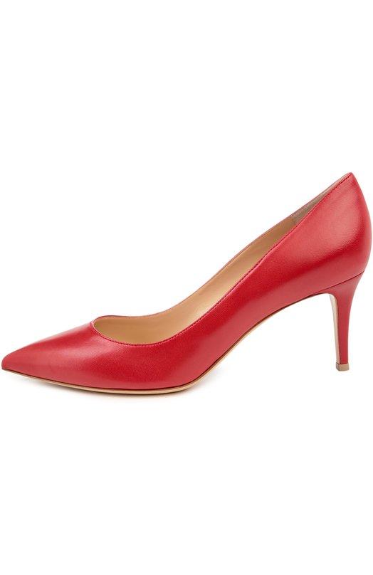 Купить Кожаные туфли Gianvito 70 на шпильке Gianvito Rossi Италия 5025547 G26770/LAMB
