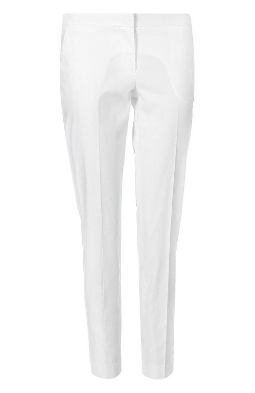 Прямые хлопковые брюки со стрелками Ermanno Scervino 38T/PL05