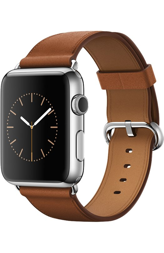 Apple Watch 42mm Silver Stainless Steel Case with Classic Buckle MMFU2RU/A