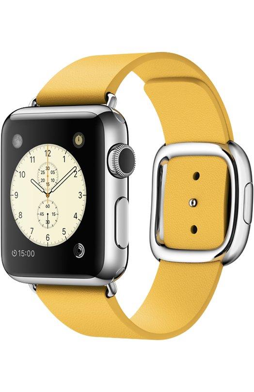 Apple Watch 38mm Silver Stainless Steel Case with Modern Buckle AppleApple Watch<br><br><br>Пол: Женский<br>Возраст: Взрослый<br>Размер производителя vendor: M<br>Цвет: Желтый