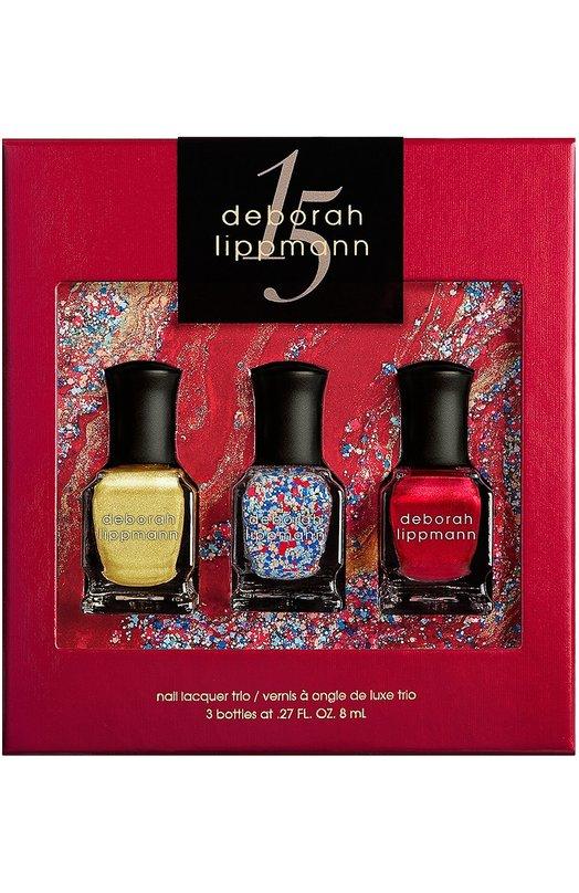 Набор лаков для ногтей Celebration Deborah LippmannЛаки для ногтей<br><br><br>Объем мл: 3<br>Пол: Женский<br>Возраст: Взрослый<br>Цвет: Бесцветный