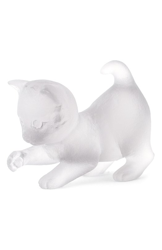 Скульптура Playing Kitten DaumСкульптуры<br><br><br>Пол: Женский<br>Возраст: Взрослый<br>Размер производителя vendor: NS<br>Цвет: Бесцветный