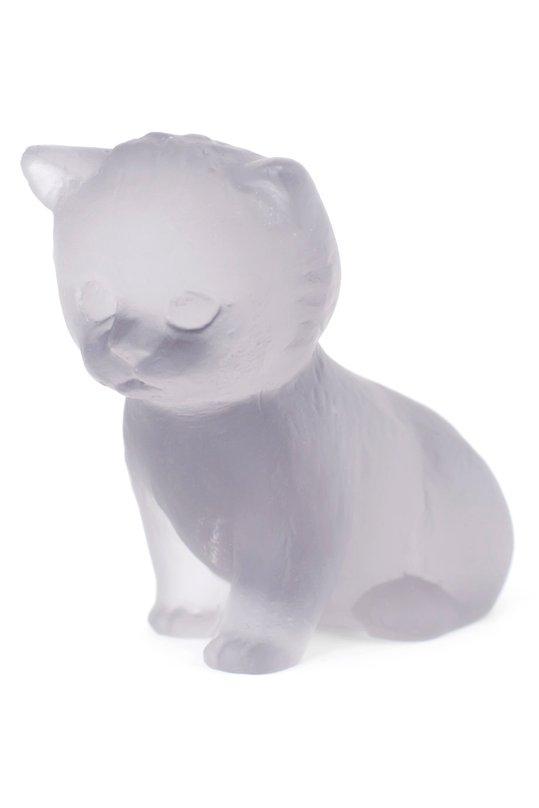 Скульптура Sitting Kitten DaumСкульптуры<br><br><br>Пол: Женский<br>Возраст: Взрослый<br>Размер производителя vendor: NS<br>Цвет: Бесцветный