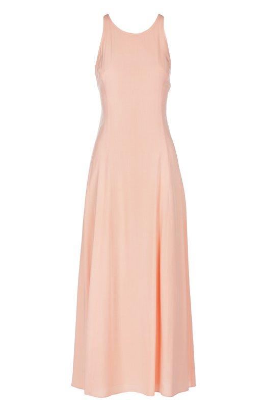 Приталенное платье-миди с открытой спиной Armani Jeans CWA35/PR