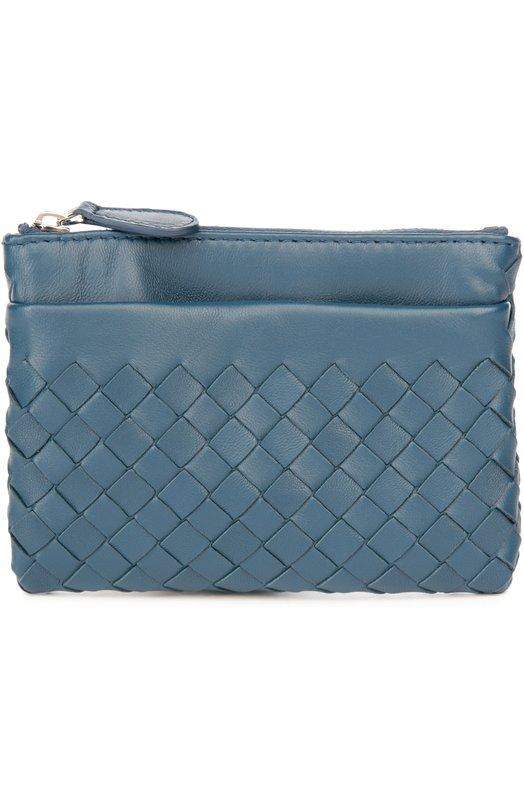 Купить Кожаный футляр для ключей с плетением intrecciato Bottega Veneta Италия 4070439 275327/V001D