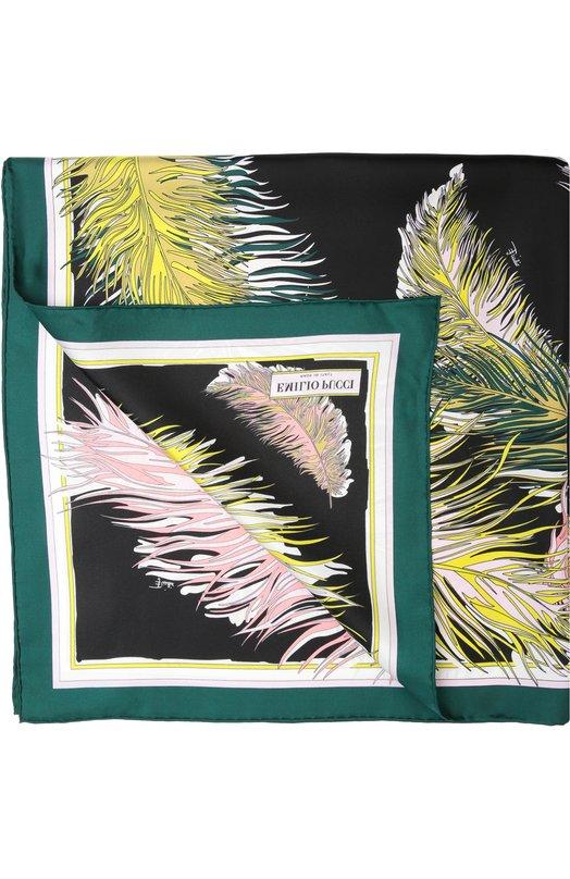 Шелковый платок с принтом Emilio Pucci 66/GB32/66P32