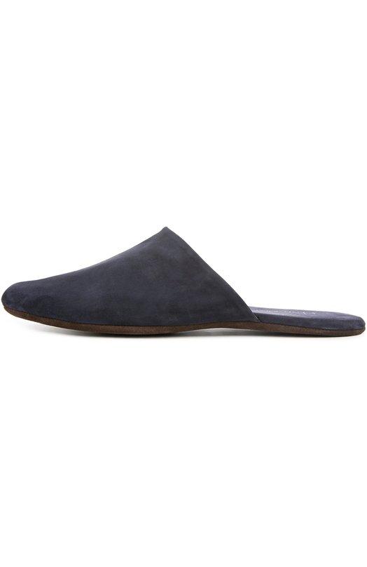 Купить Домашние замшевые туфли Homers At Home, 14289/ANTE, Испания, Темно-синий, Стелька-кожа: 100%; Замша натуральная: 100%; Стелька-замша: 100%; Подошва-замша: 100%;
