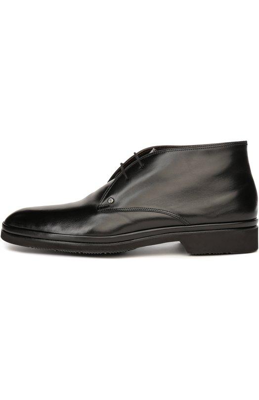 Кожаные ботинки с меховой стелькой Aldo Brue AB856BP/BABY CALF