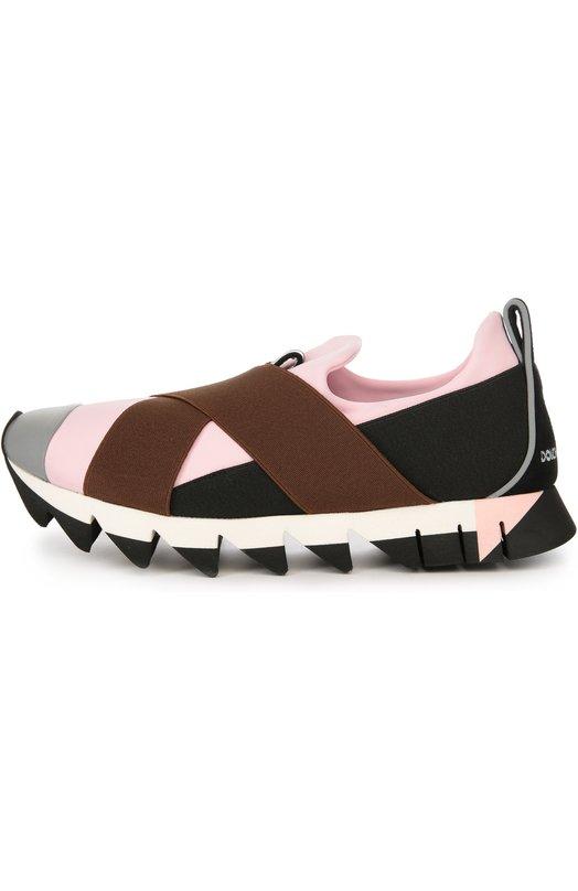 Кроссовки Ibiza на рельефной подошве Dolce & Gabbana 0112/CK0074/AD837