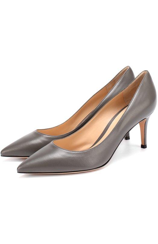 Купить Кожаные туфли Gianvito 70 на шпильке Rossi Италия 5025547 G26770/LAMB