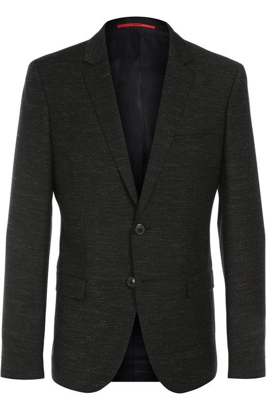 Пиджак из текстурированной шерсти HUGO 50314648