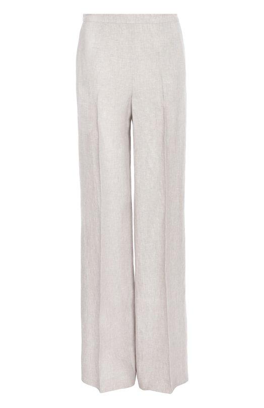 Льняные прямые брюки со стрелками BOSS 50309596