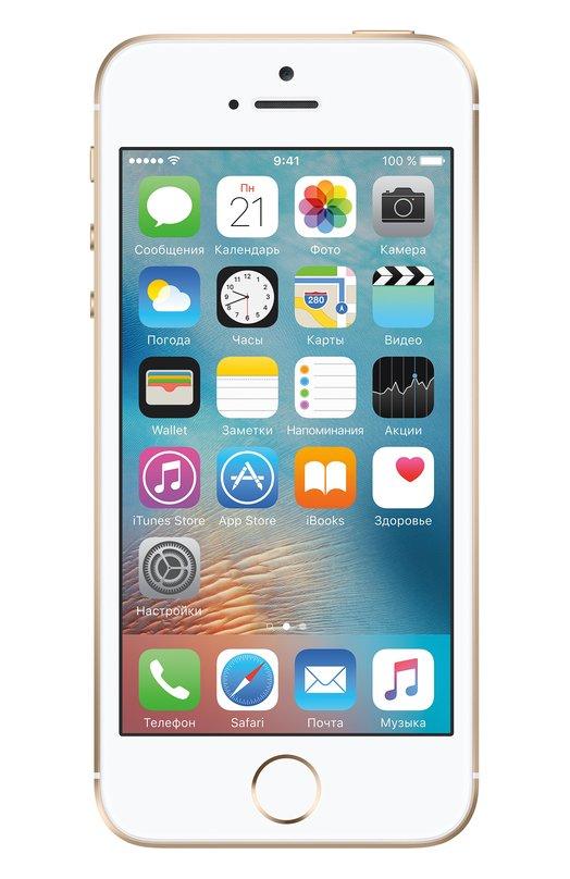 iPhone SE 64GB AppleiPhone<br><br><br>Российский размер RU: 64<br>Пол: Женский<br>Возраст: Взрослый<br>Размер производителя vendor: 64GB<br>Цвет: Золотой