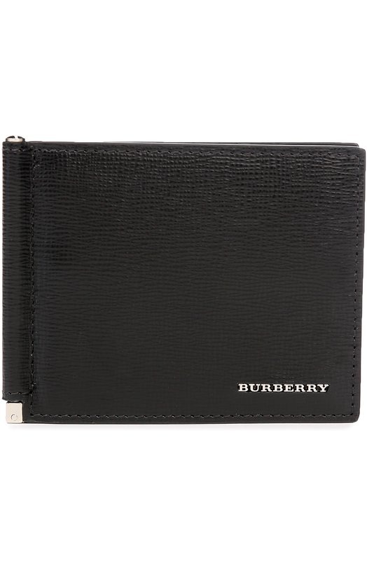 Кожаное портмоне с логотипом бренда Burberry 4016529