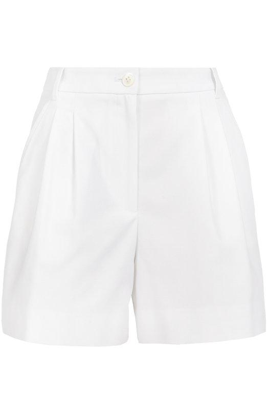 Мини-шорты с завышенной талией и защипами Dolce & Gabbana 0102/FTAH4T/FUECU