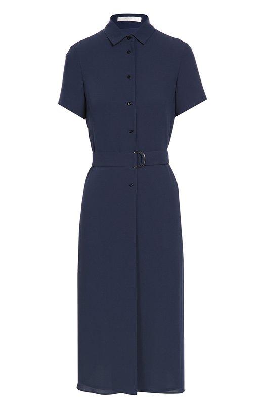Платье-рубашка с поясом BOSS 50318554