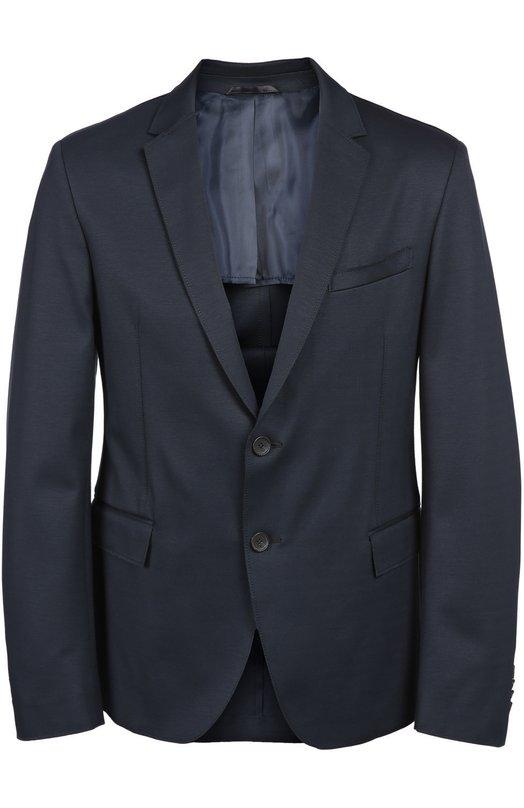Шерстяной однобортный пиджак BOSS 50318043