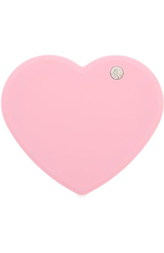 Внешний аккумулятор Power Of Love с набором переходников IphoriaЗарядные устройства<br>Розовый внешний аккумулятор Power Of Love из ударопрочного поликарбоната выполнен в форме сердца. Портативное зарядное устройство емкостью 4400 mAh, со светодиодным фонарем совместимо с большинством телефонов и планшетов.<br><br>Пол: Женский<br>Возраст: Взрослый<br>Размер производителя vendor: NS<br>Материал: Пластмасса: 100%;<br>Цвет: Розовый