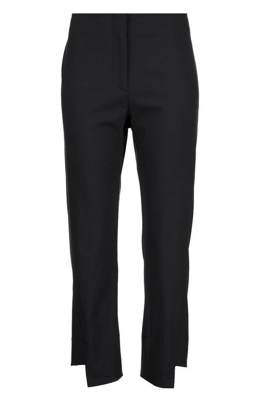 Шерстяные укороченные брюки асимметричного кроя Acne StudiosБрюки<br>Укороченные брюки с посадкой на талии вошли в коллекцию сезона весна-лето 2016 года. При производстве изделия прямого кроя мастера марки использовали мягкую шерсть с добавлением эластичный нитей. Нам нравится сочетать с темно-синим топом, черными босоножками и сумкой.<br><br>Российский размер RU: 44<br>Пол: Женский<br>Возраст: Взрослый<br>Размер производителя vendor: 38<br>Материал: Шерсть: 97%; Эластан: 3%;<br>Цвет: Синий