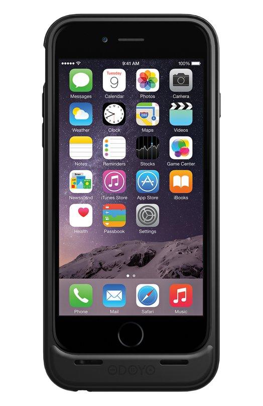 Чехол-аккумулятор Mars для iPhone 6/6s на 3000 mAh OdoyoЧехлы для iPhone<br><br><br>Пол: Женский<br>Возраст: Взрослый<br>Размер производителя vendor: NS<br>Цвет: Черный