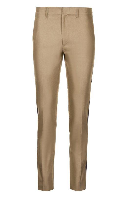 Хлопковые брюки с лампасами Valentino KV0RCH54/32C