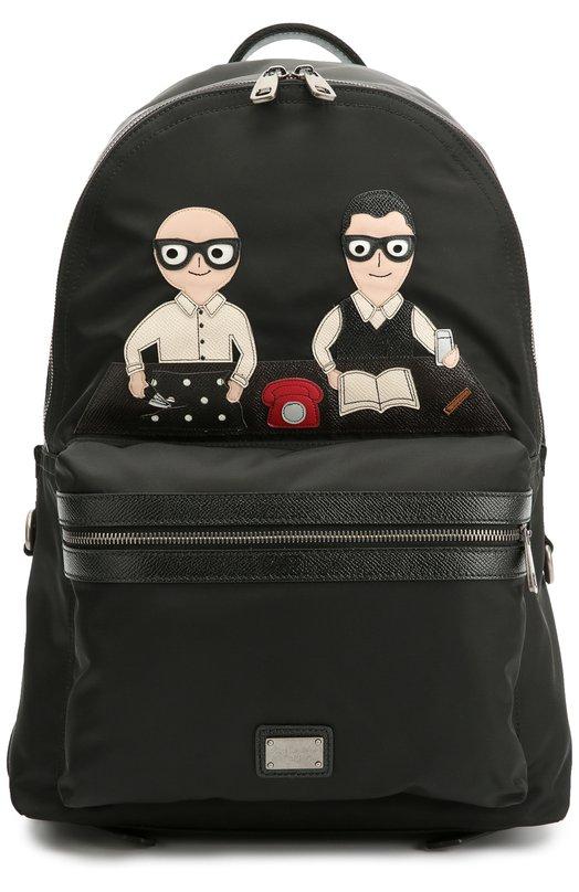 Рюкзак Vulcano с нашивками Dolce & Gabbana 0115/BM1263/AD576