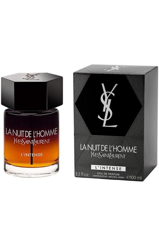 Парфюмерная вода La Nuit De L'Homme Intense YSLАроматы для мужчин<br><br><br>Объем мл: 100<br>Пол: Женский<br>Возраст: Взрослый<br>Цвет: Бесцветный