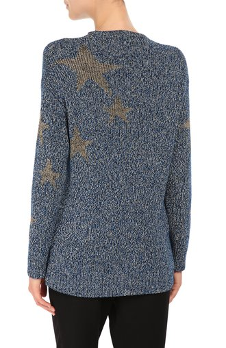 Хлопковый пуловер