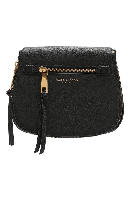 Купить Сумка Recruit small Marc Jacobs, M0008137, Вьетнам, Черный, Кожа натуральная: 100%; Кожа: 100%;