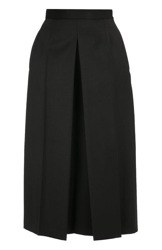 Укороченные широкие брюки со стрелками Alexander McQueen 437776/QHJ12
